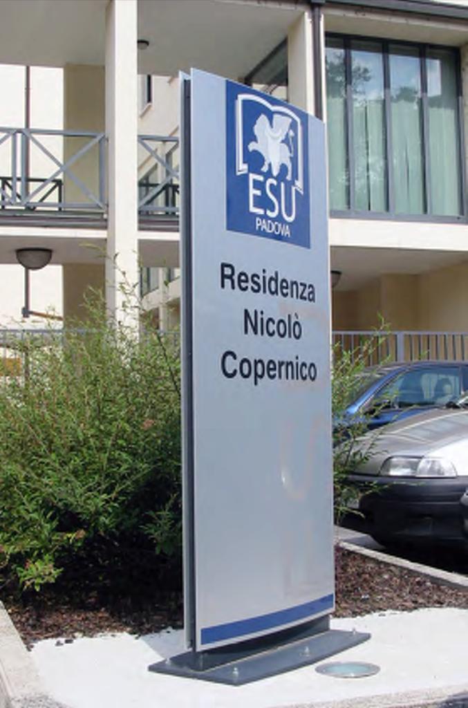 Totem installato c/o Esu di Padova