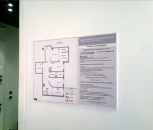 Segnaletica di sicurezza - mappe vie di fuga